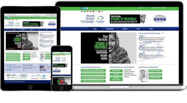 World Stroke Campaign – Website