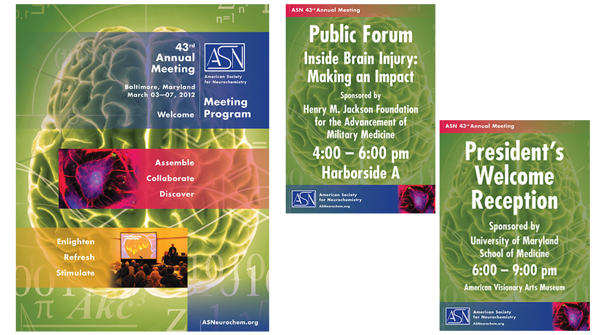 American Society for Neurochemistry Meeting Collateral