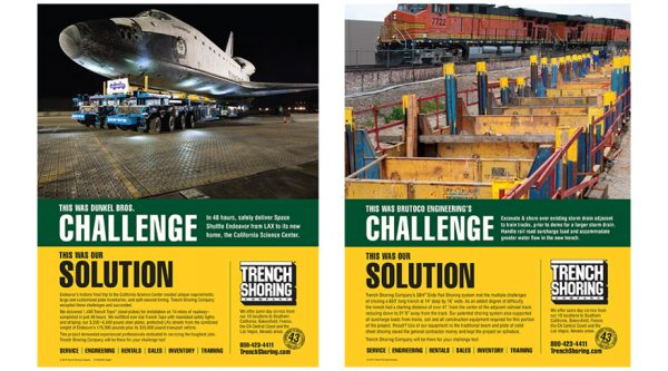 Trench Shoring Company – Collateral / Advertising