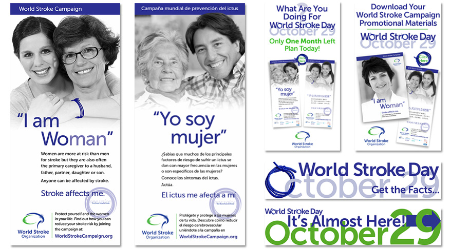 World Stroke Day Collateral