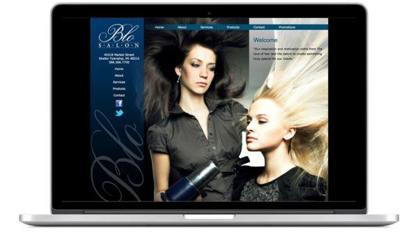 The Blo Salon – Website
